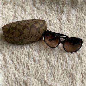 Authentic Coach Brennan (S812) Tortoise Sunglasses